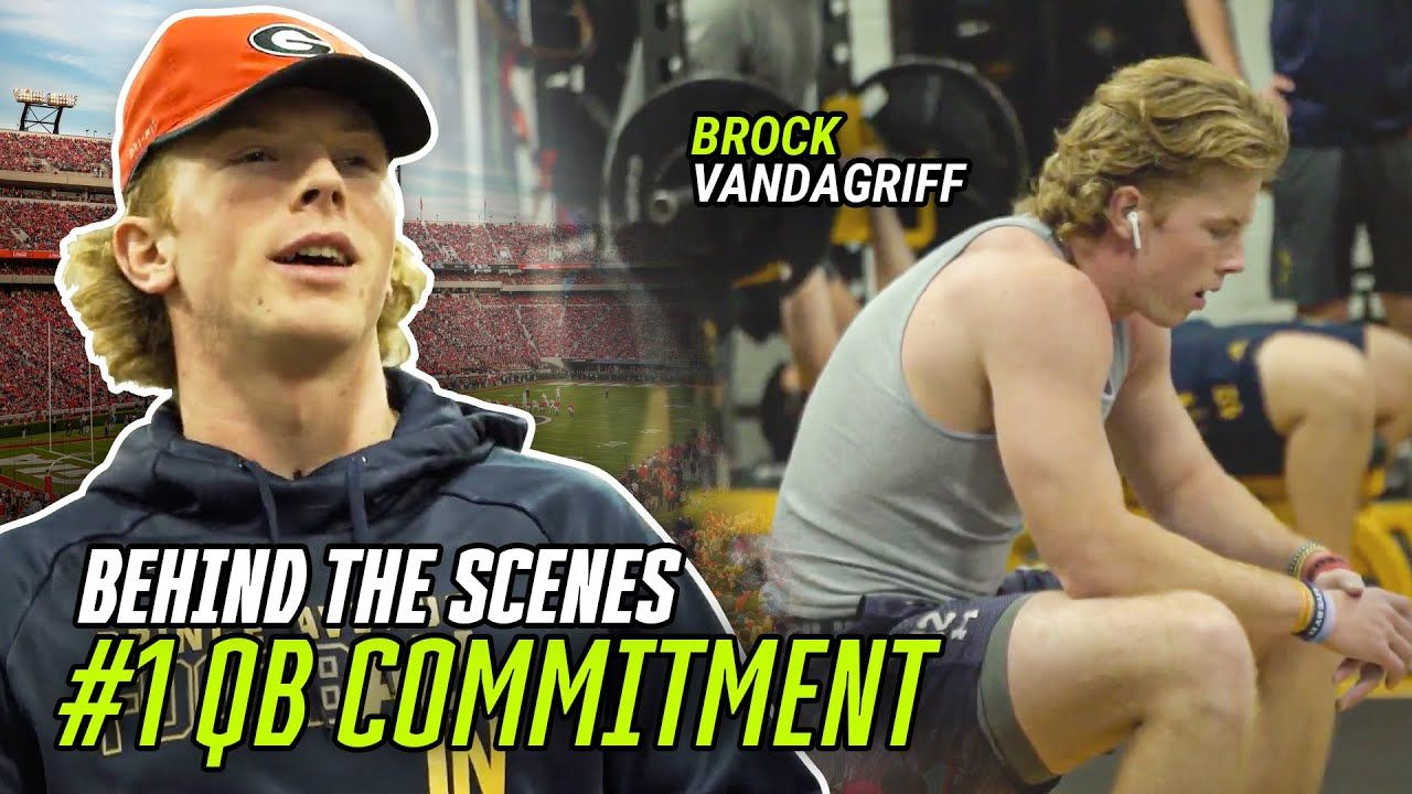 """I'm Staying HOME!"" Exclusive Look At #1 QB Brock Vandagriff's College Decision"