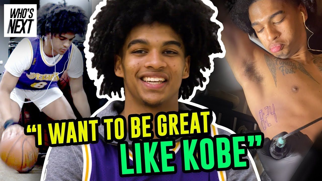 """""""Ain't NO Days Off."""" Skyy Clark Will Stop At NOTHING To Be Great! Opens Up On Pressure & Kobe Tattoo"""