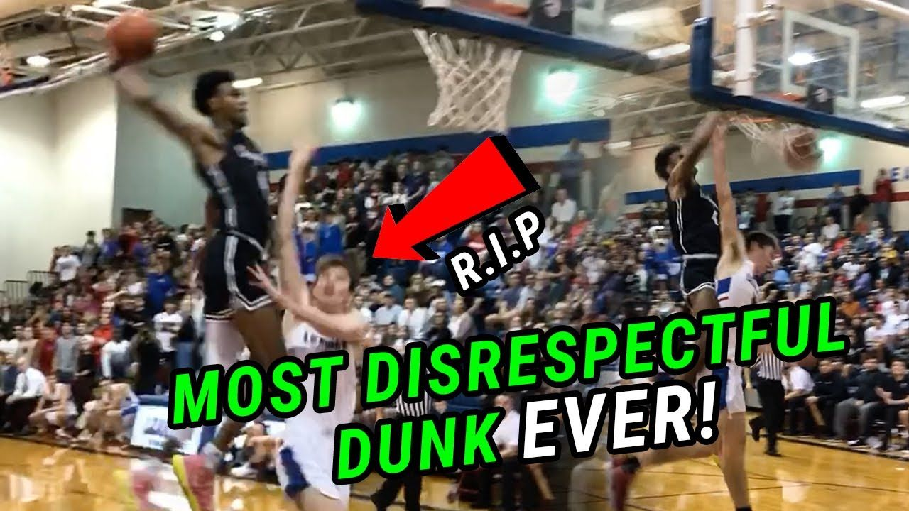 THE BEST DUNK EVER!!! Greg Brown Throws Down Most DISRESPECTFUL Dunk You've EVER SEEN 😱