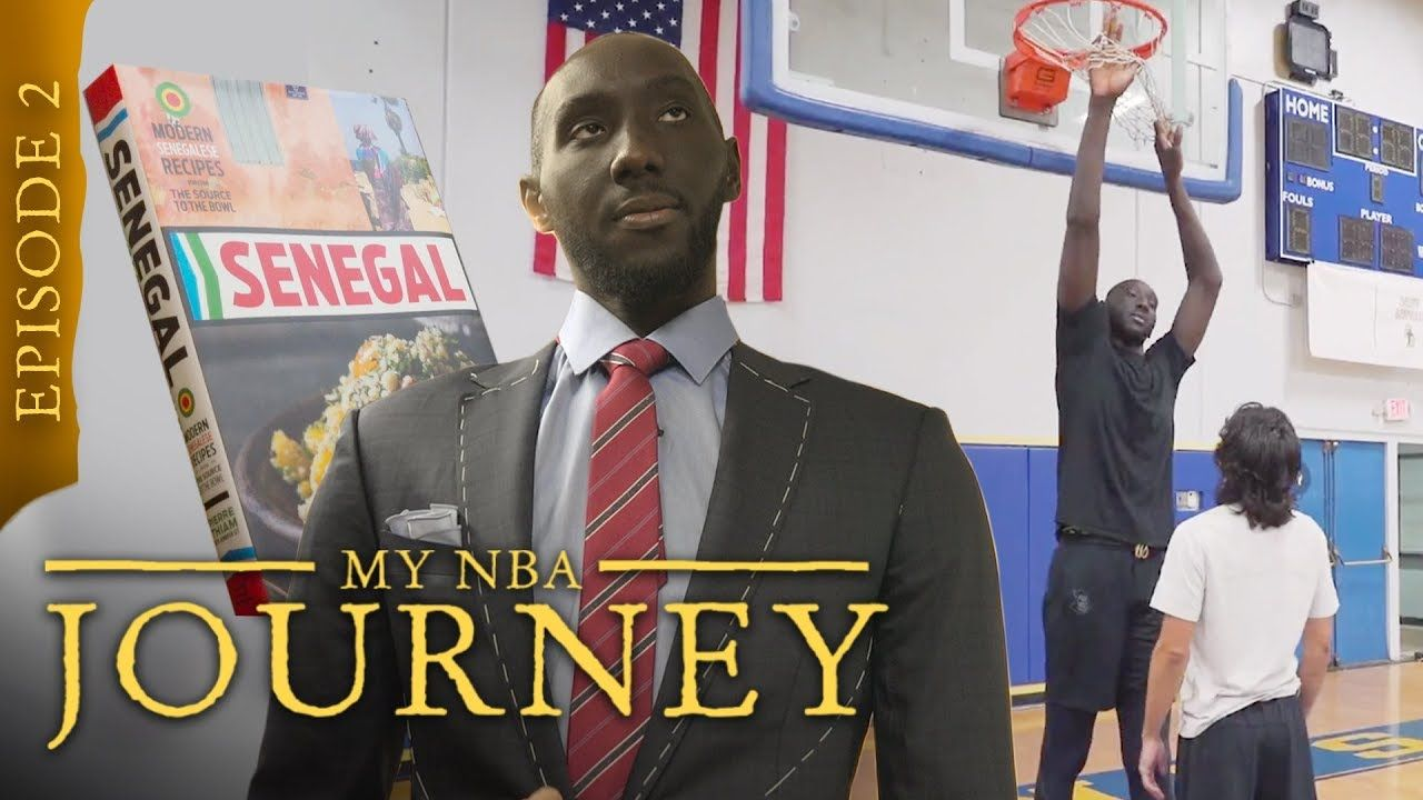 """He's Representing The Whole Country!"" 7'7"" Tacko Fall Gets The Biggest Suit EVER & Talks NBA DRAFT!"
