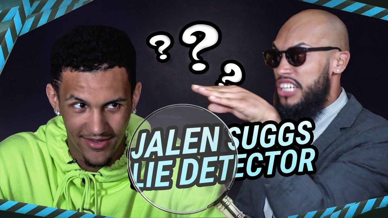"""You Picking Basketball Or Football?"" Jalen Suggs Gets HEATED In EPIC Lie Detector 😡"
