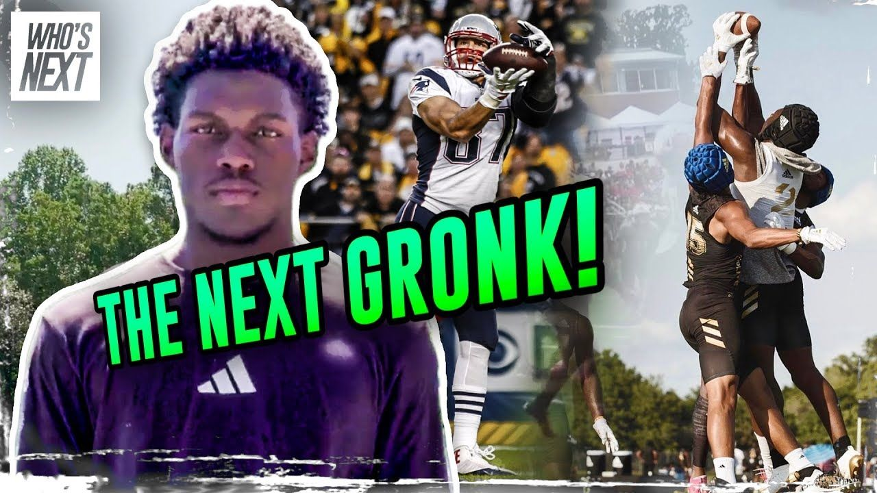 """He Looks Like A MANCHILD!"" 6'6"" Arik Gilbert Is The Biggest Freak In HS Football! NEXT GRONK!?"
