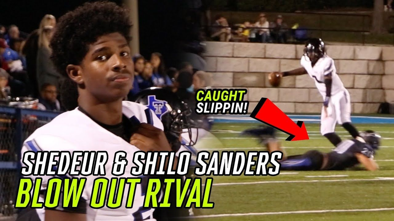 Shedeur Sanders GOT MOVES! He & Shilo Connect And BLOW OUT Texas Rival 😱