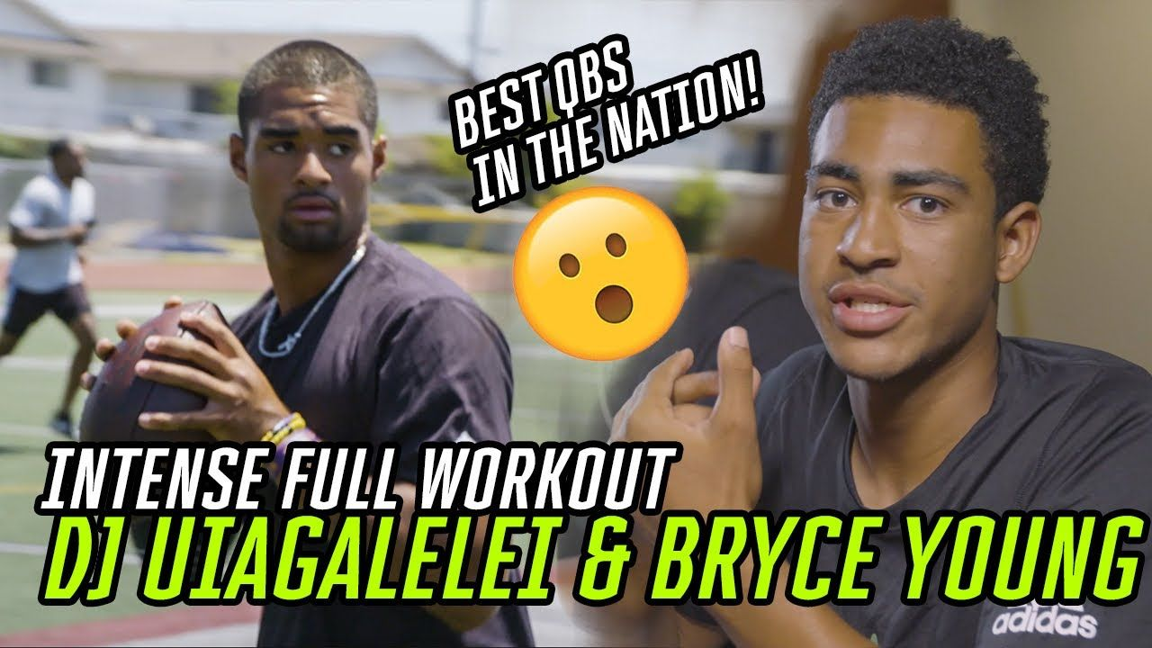How DJ Uiagalelei & Bryce Young Became The Nation's BEST QBs! Alabama & Clemson Commits' NFL Workout