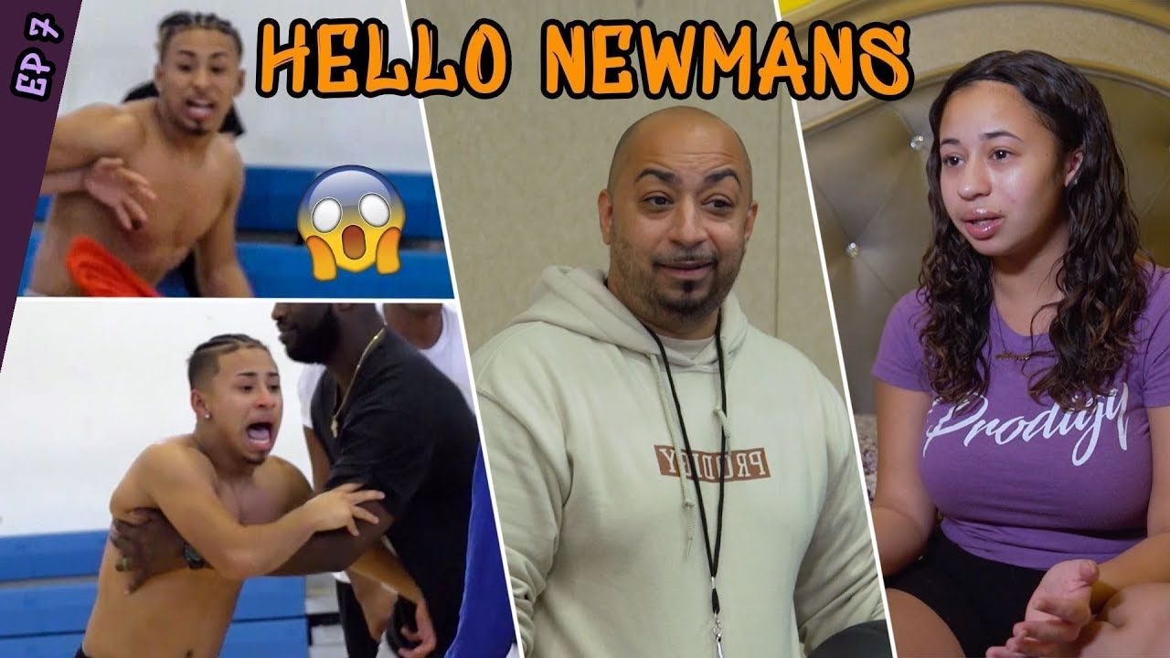 Julian Newman THROWS HANDS At Practice! Jaden Newman Has 1st Day At PRODIGY PREP & Julian Apologizes