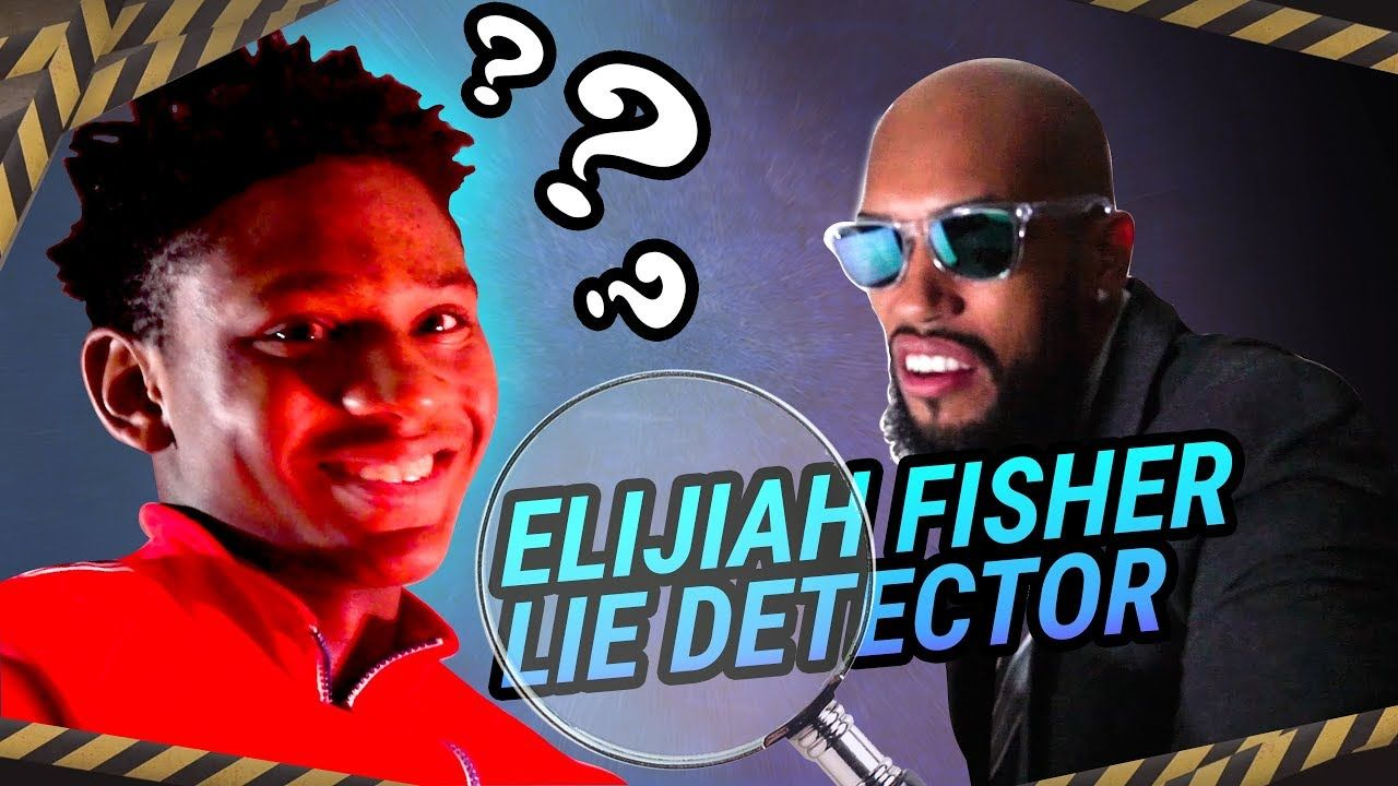 Elijah Fisher Is Gonna DROP A 30 BALL On Mikey Williams!? Tells The WHOLE TRUTH On Lie Detector 😱