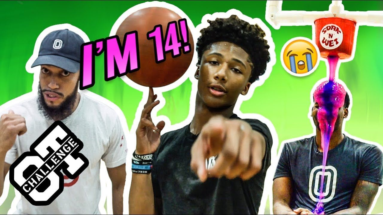 Mikey Williams Gets MESSY In The NEW Overtime Challenge! Best 14 Year Old Ever!? 😱