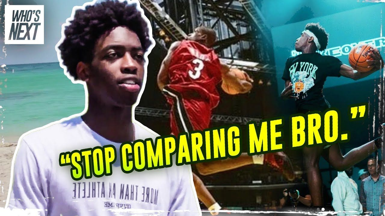 Don't Call Him Dwyane Wade's Son. Zaire Wade Opens Up On His Struggles & Making His OWN NAME!