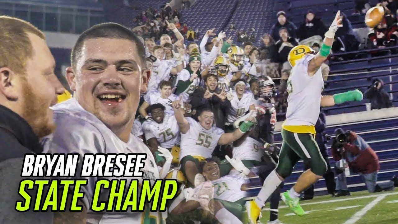 Bryan Bresee Is A STATE CHAMP! Clemson Commit Wears Cast & Runs For TOUCHDOWN!