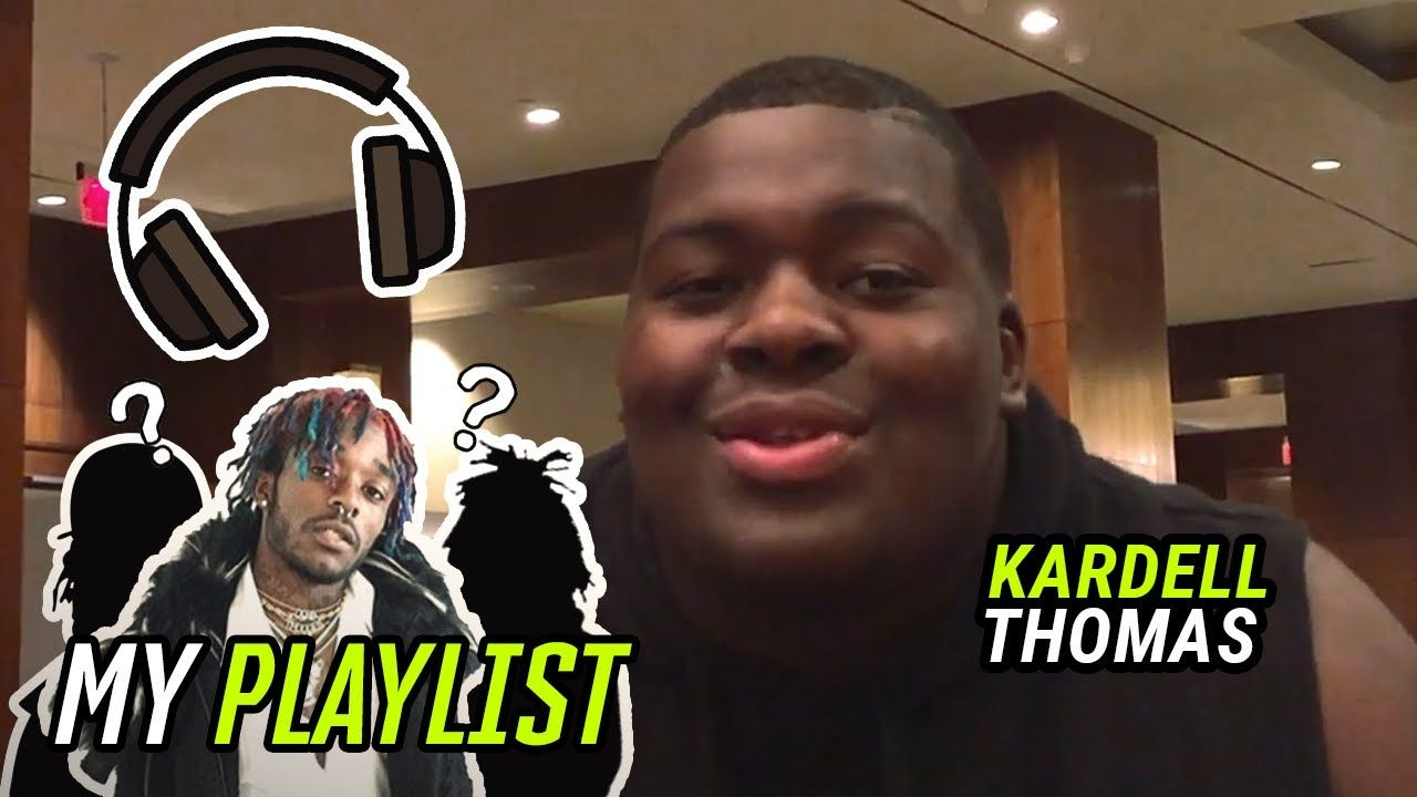 LSU's Kardell Thomas Reveals His PRE GAME PLAYLIST! Lil Uzi, NBA YoungBoy & MORE 🔥