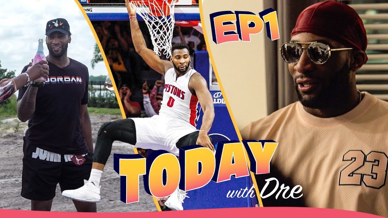 """Basketball Doesn't Last Forever."" Andre Drummond Buys His Mom A House & STARS In Own Reality Show!"