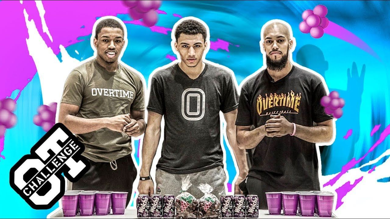 Jahvon Quinerly Brings JELLY To The Overtime Challenge! ISAIAH WASHINGTON Pulls Up To Play 1-1 🍇