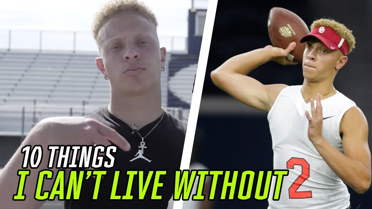 10 Things Oklahoma QB Spencer Rattler Can't Live Without 😱