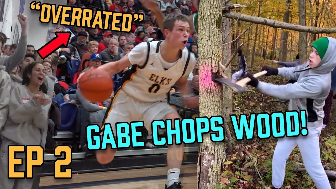 """Imma Keep Playing My Game!"" Gabe Cupps Gets Called OVERRATED, Then Comes Up Clutch! CHOPS TREES!?"