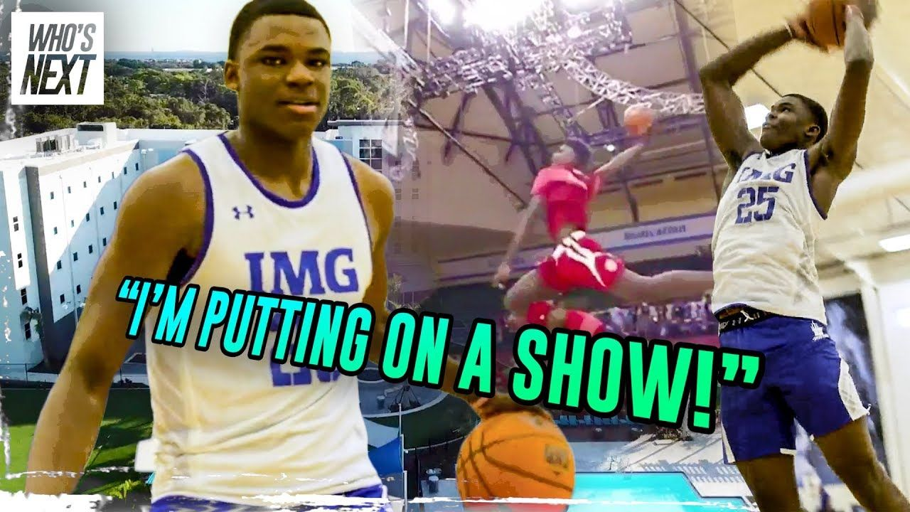 This 9th Grader Can Dunk From The FREE THROW LINE! Jarace Walker Is IMG Academy's NEXT SUPERSTAR 😈