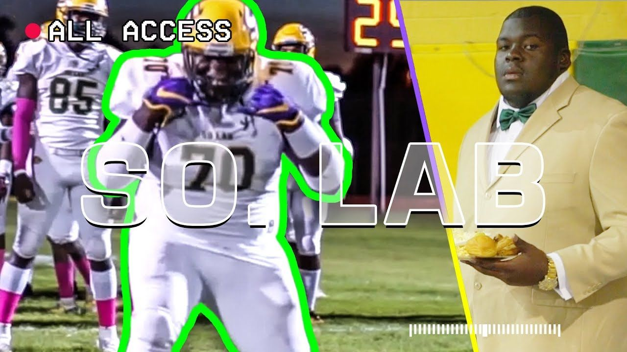 """We Get It Out The MUD."" LSU's Kardell Thomas Shows Us How LOUISIANA Does Friday Night Lights 😈"