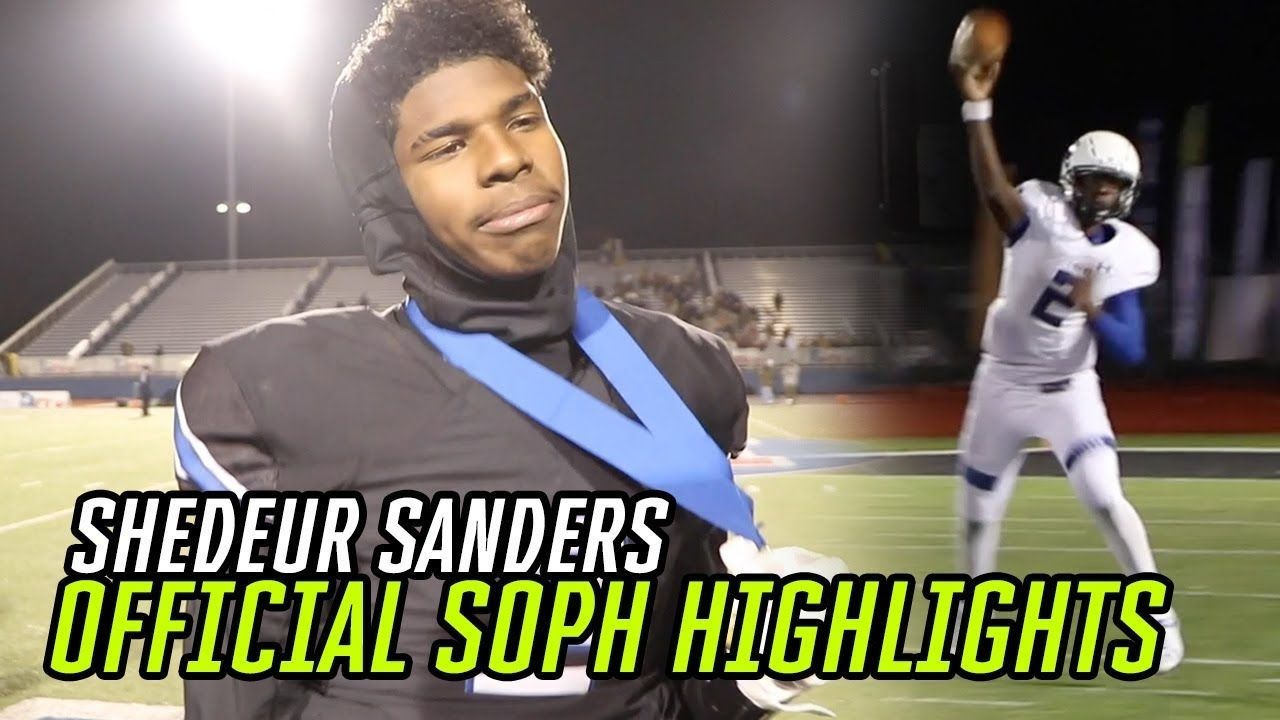 Shedeur Sanders Sophomore Year HIGHLIGHTS! Most EXCITING Player In The Country 🔥