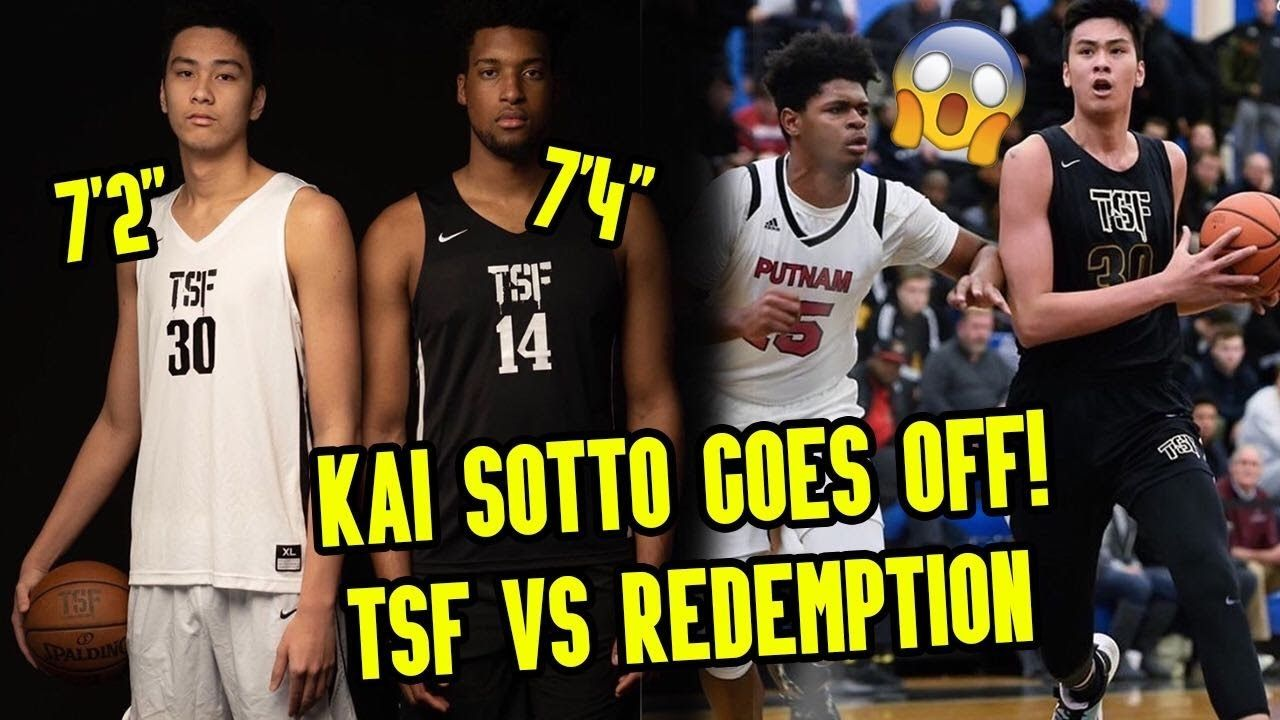 "7'2"" Kai Sotto Comes Up CLUTCH In 4th Quarter! Dunks & Drops 22 In DUB! 💯"