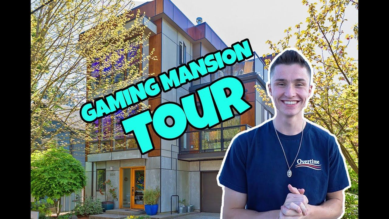 Only Gaming Mansion In NYC (Full Tour)