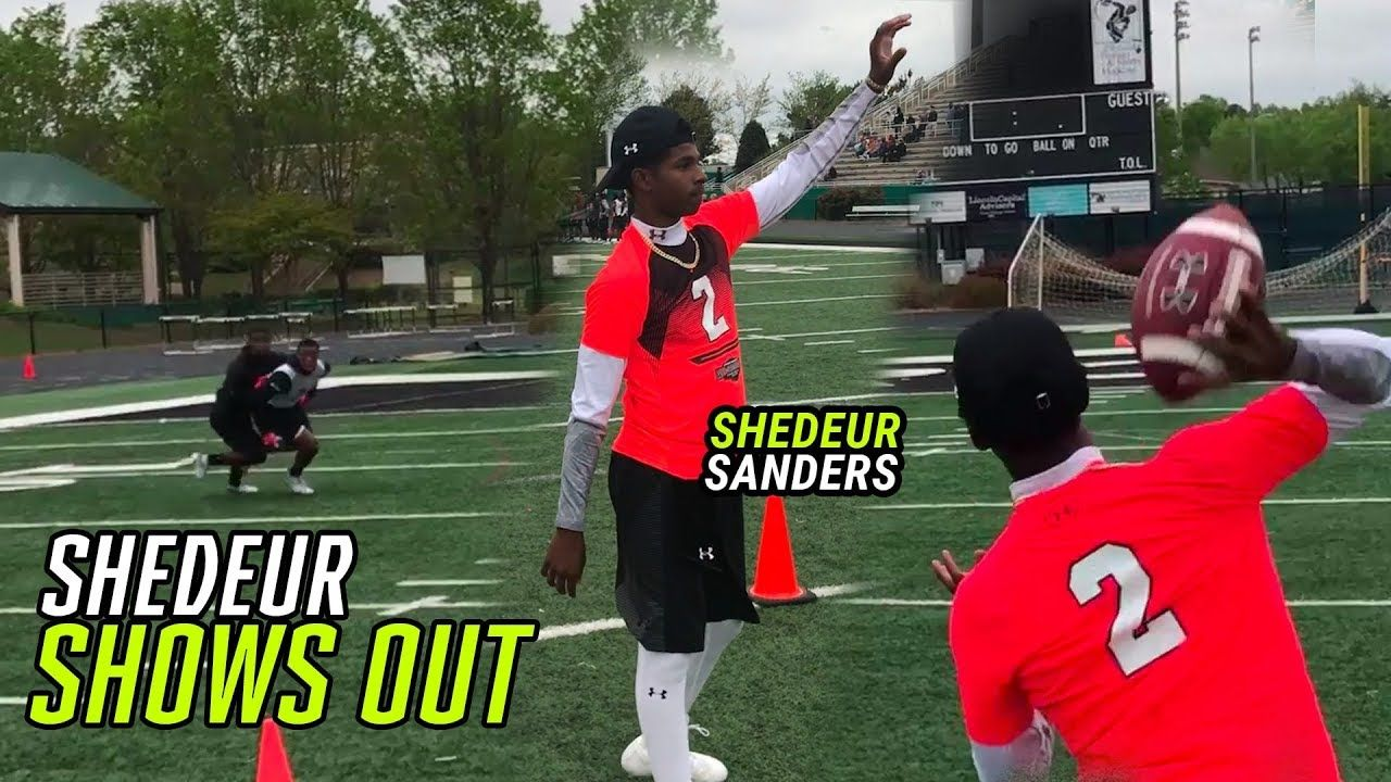 Shedeur Sanders Is Taking His Game To The NEXT LEVEL! Future ALL AMERICAN 💯
