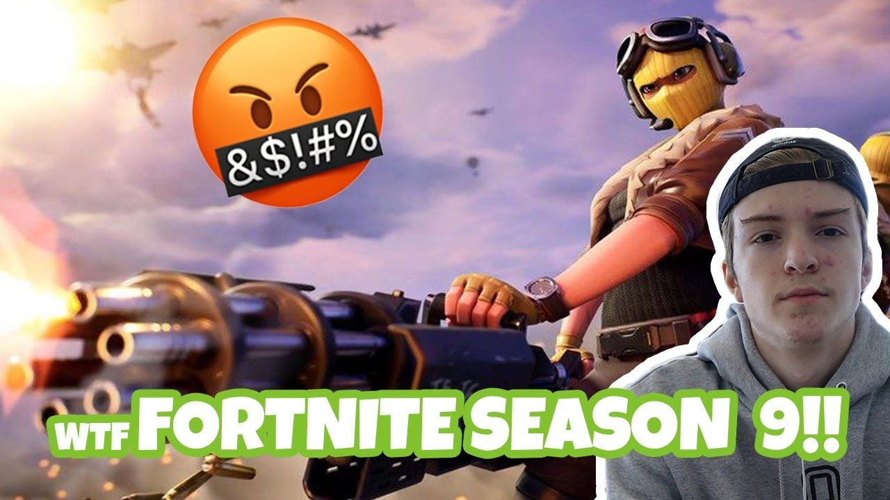 Fortnite Season 9 SUCKS A$$ 😡