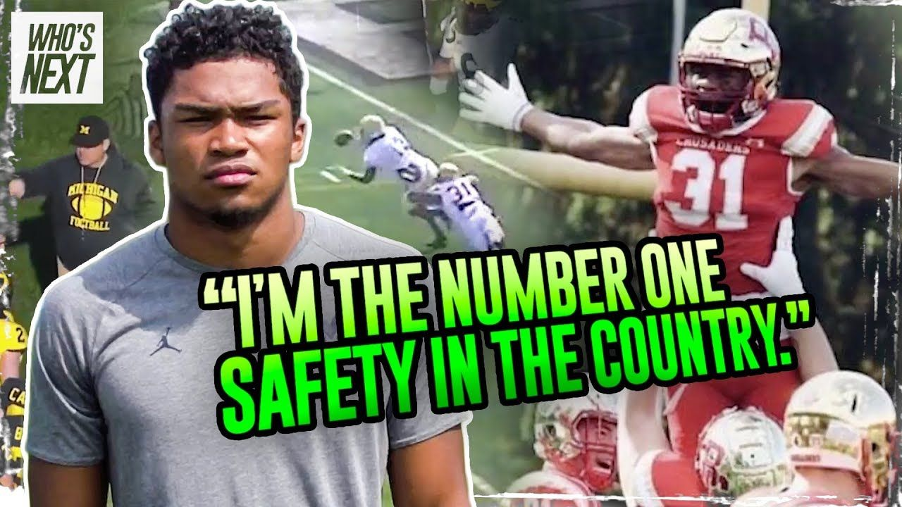 """People Are Scared To Throw To My Side!"" Michigan Commit Jordan Morant Is The Nation's #1 SAFETY!"