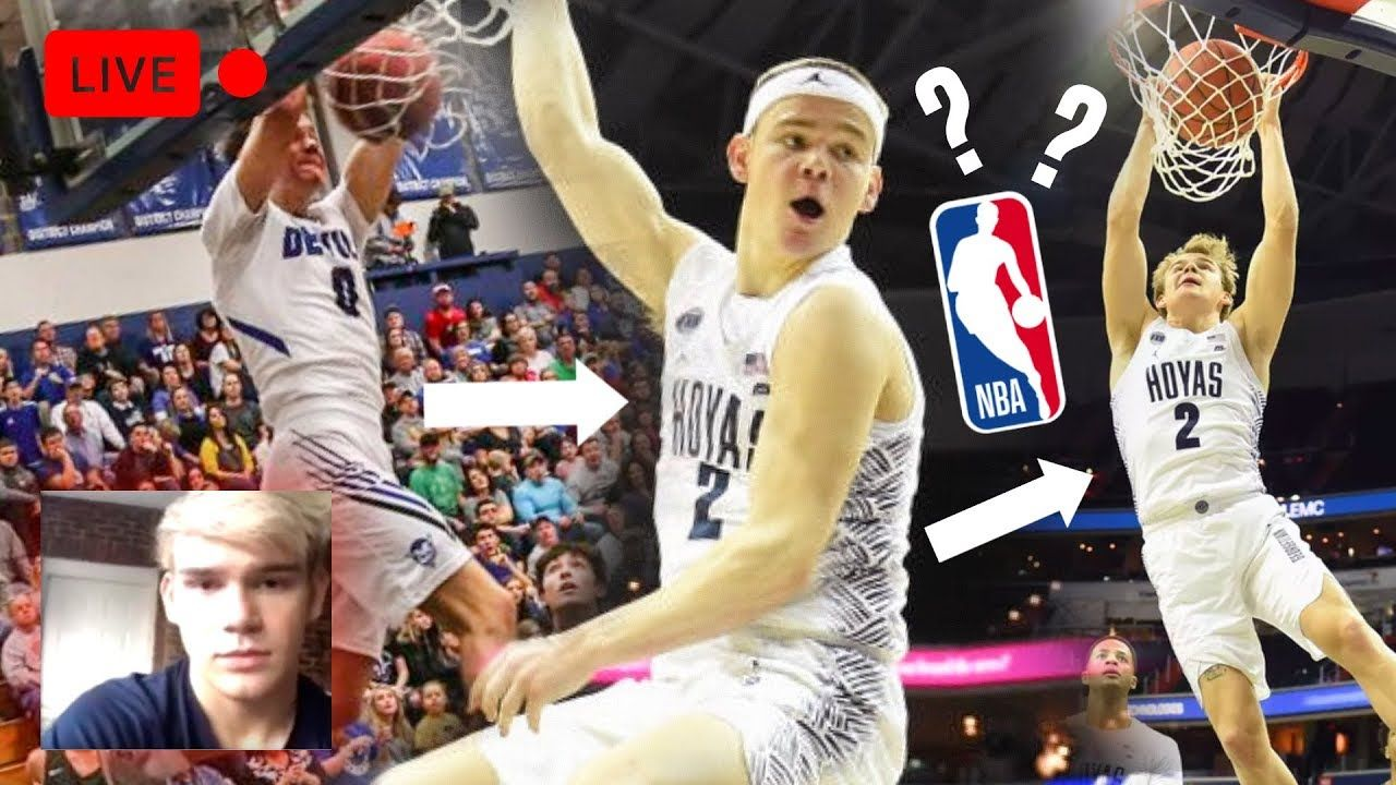 Mac McClung Declares For NBA DRAFT! EXCLUSIVE On New Hair, Between The Legs Dunk, Coach Ewing & More
