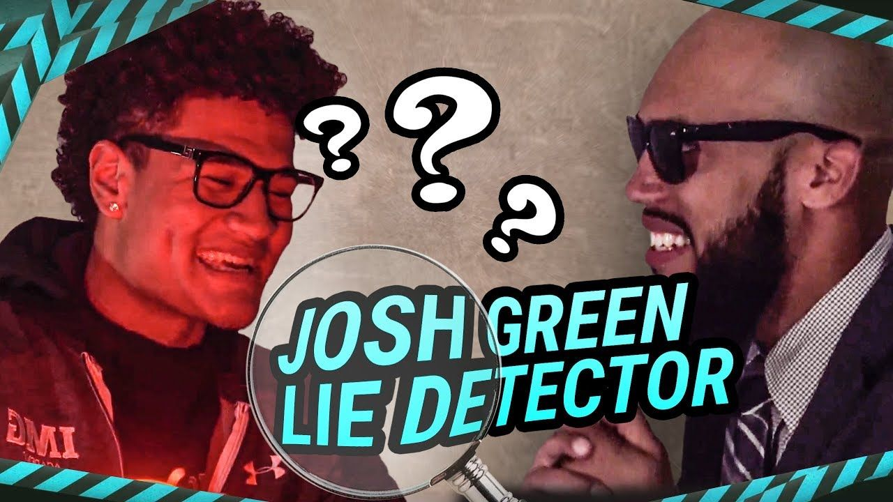 """I'm Better Than Nico."" Josh Green Spills The IMG SECRETS On Lie Detector 😱"