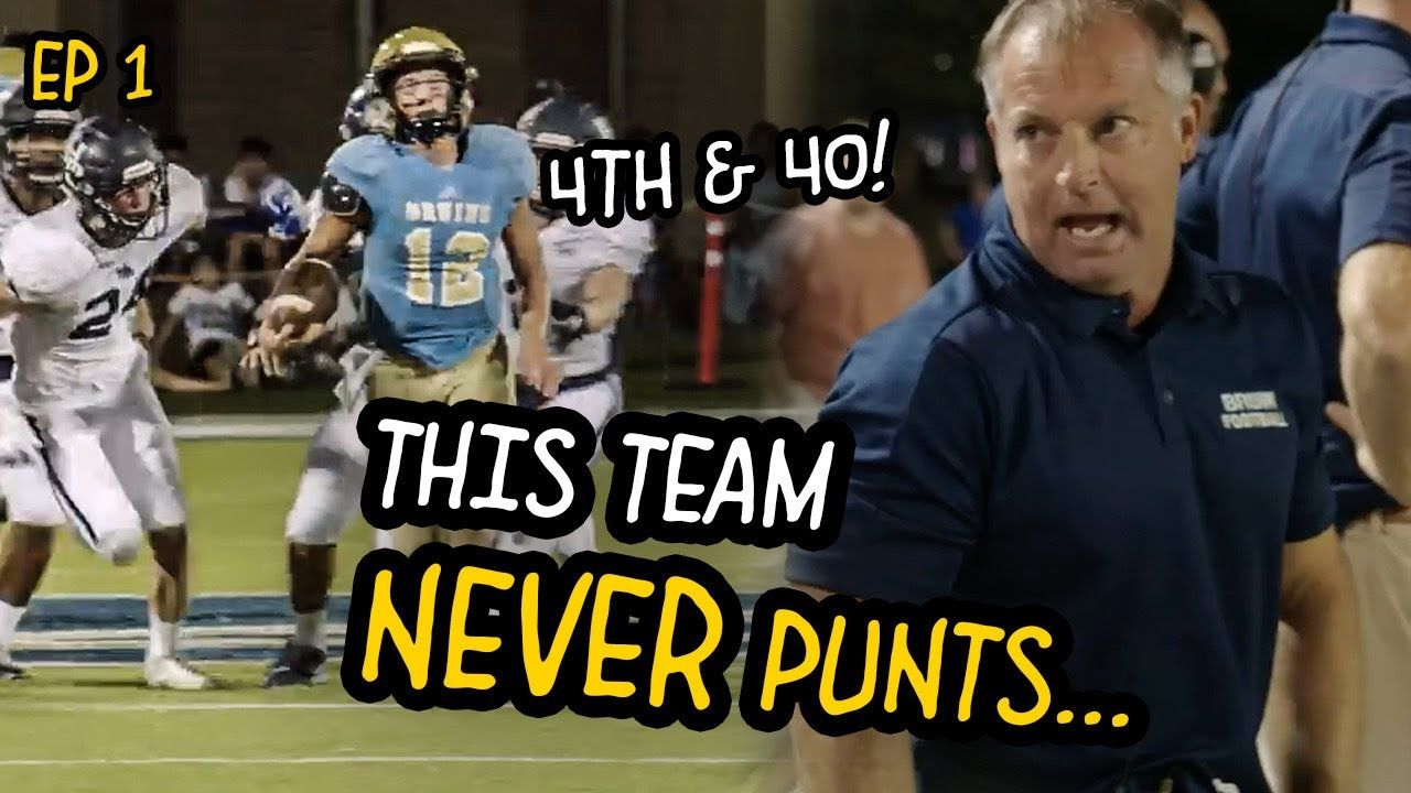 This Coach NEVER PUNTS, Even On 4th & 40! Kevin Kelley Is The NICK SABAN Of High School Football!