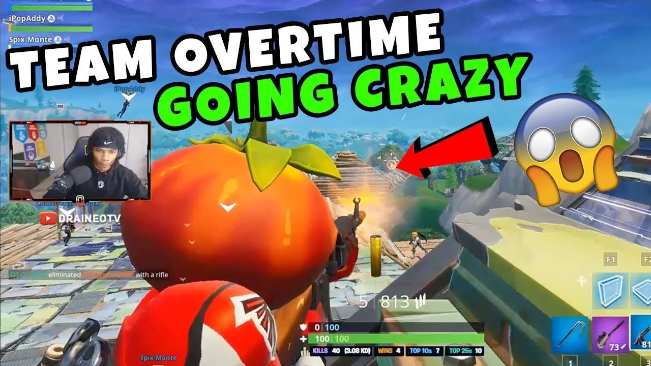 OT Draineo, Spadess, Nikiski, Inspyre & Divine! Crazy Snipes & No Scopes! Team Overtime Highlights