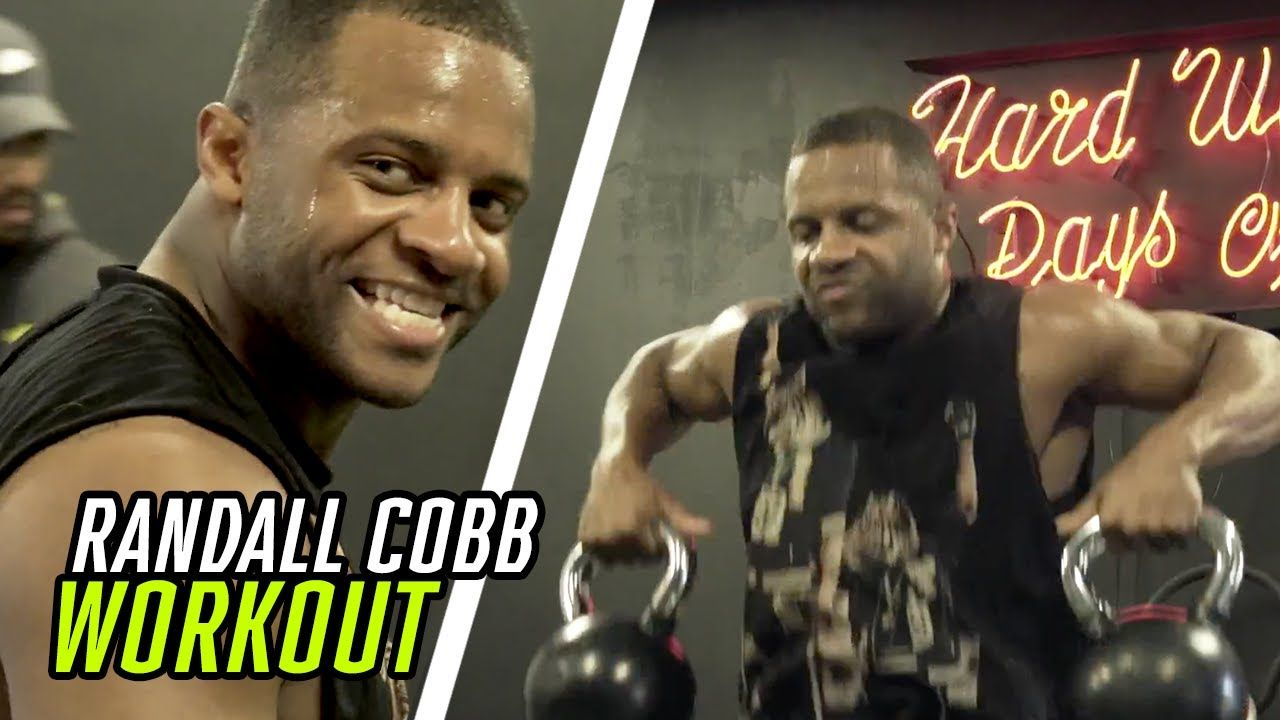 Cowboys Wide Receiver Randall Cobb Been In The LAB This Offseason! Exclusive Workout In LA ☀️