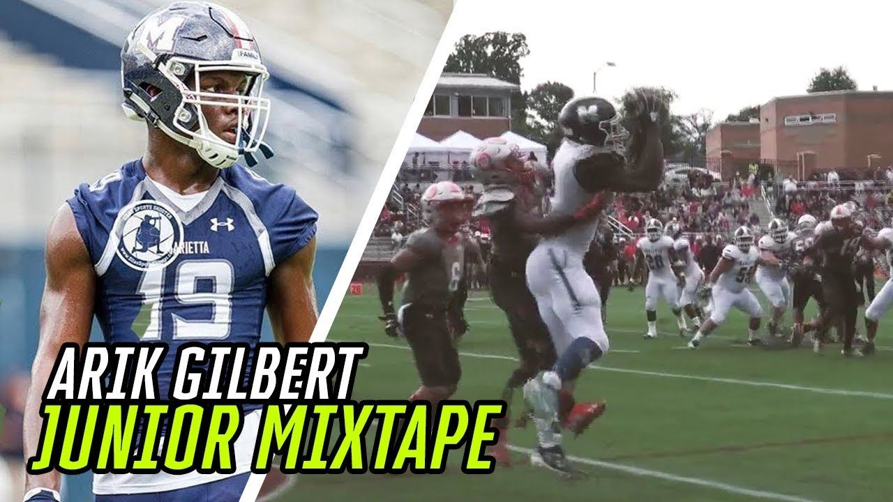 The BEST ATHLETE In The Nation!? Arik Gilbert's JUNIOR HIGHLIGHTS 🎬