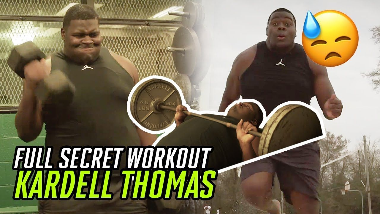 """""""I'm Not A Quitter, I Got That DOG In Me!"""" Kardell Thomas' SECRET WORKOUT Getting Ready For LSU 🐯"""