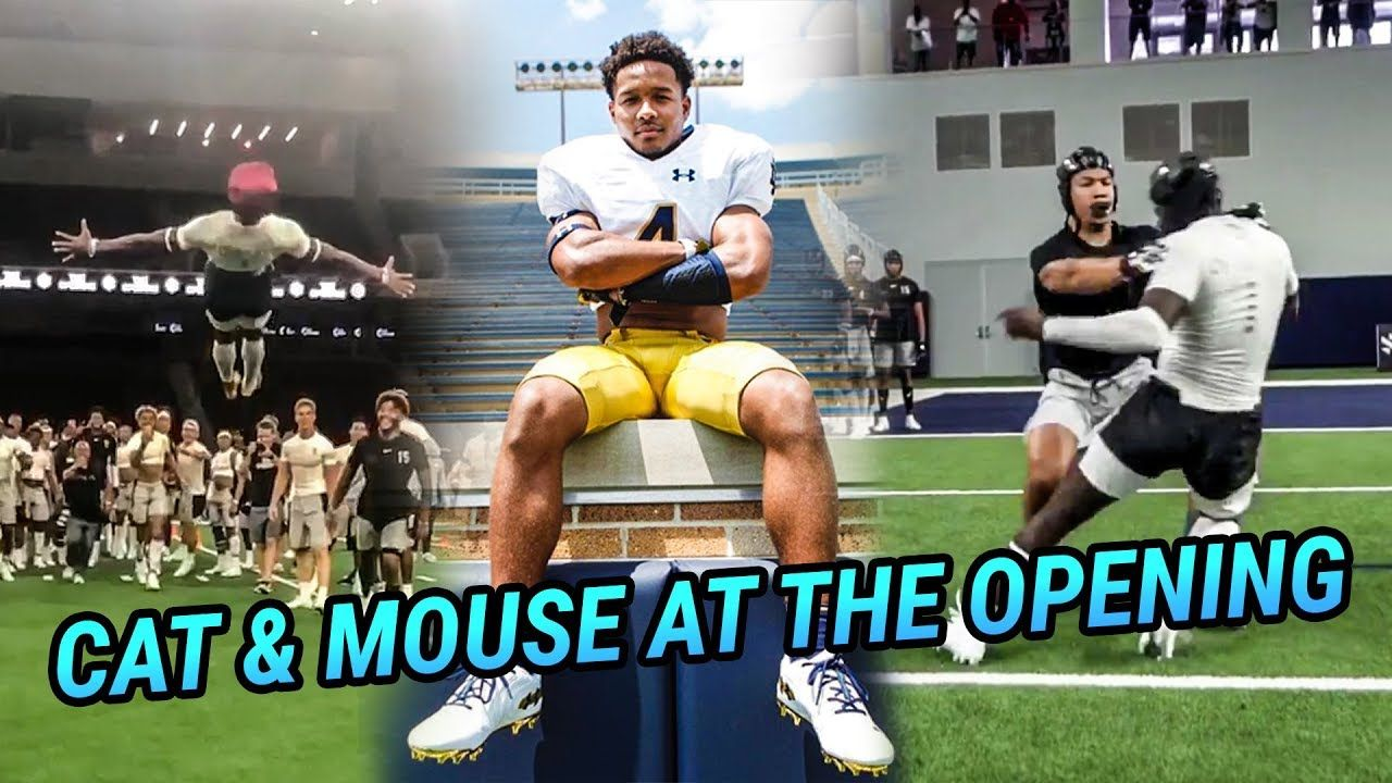Kendall Milton & Country's Best RBs Put Defenders On SKATES! Notre Dame Commit Chris Tyree A SAVAGE!