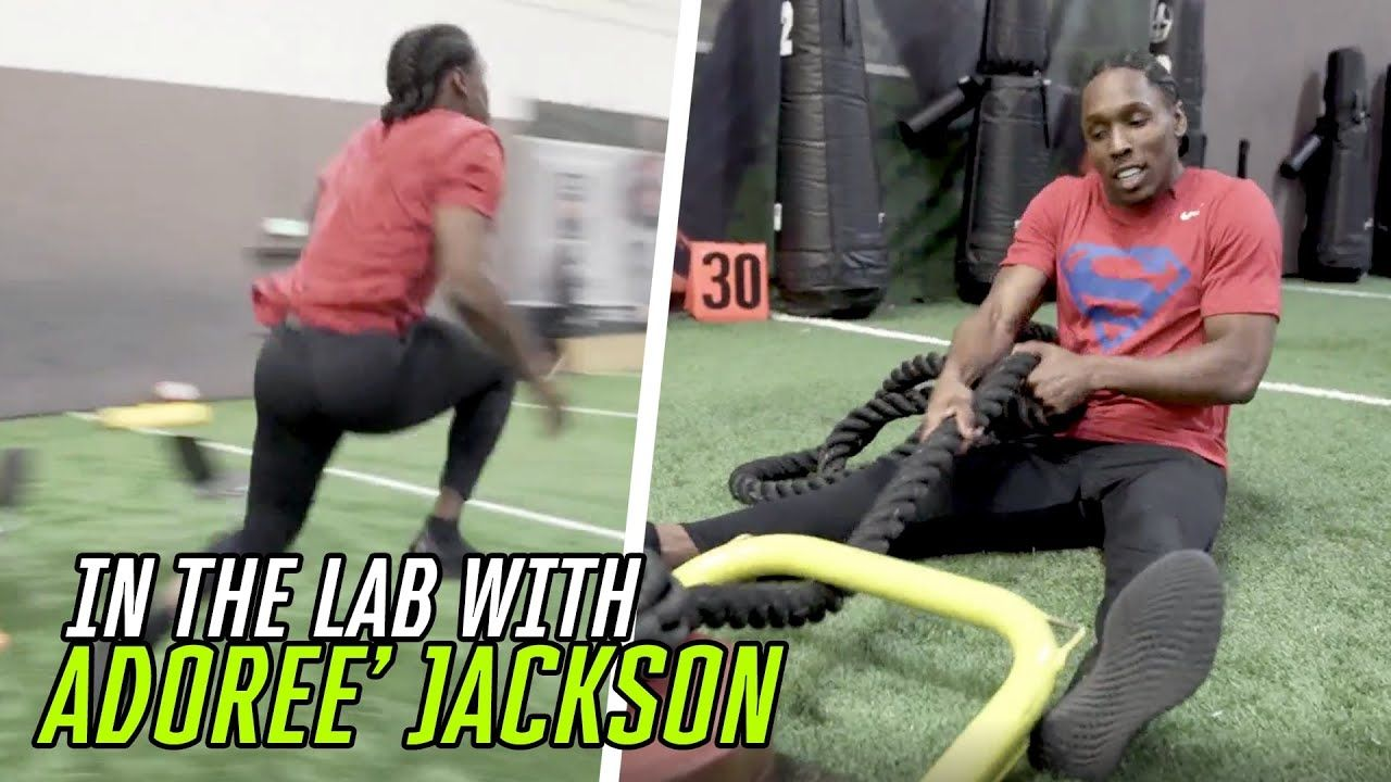 USC Legend Adoree' Jackson Is Built DIFFERENT! Tennessee Titans DB Took Us Inside NEXT LEVEL Workout