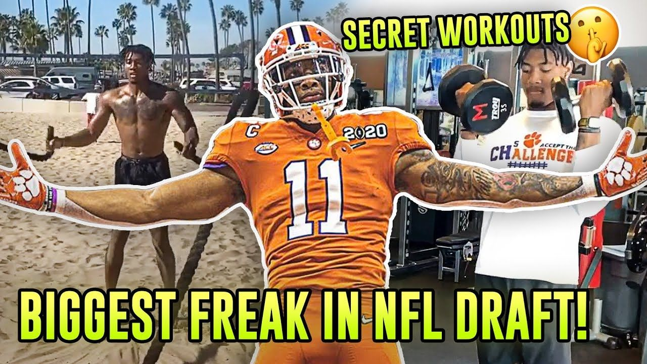"Clemson Star Isaiah Simmons Is The Best Athlete On EARTH! 6'4"" LB Is Faster Than NFL RUNNING BACKS!"