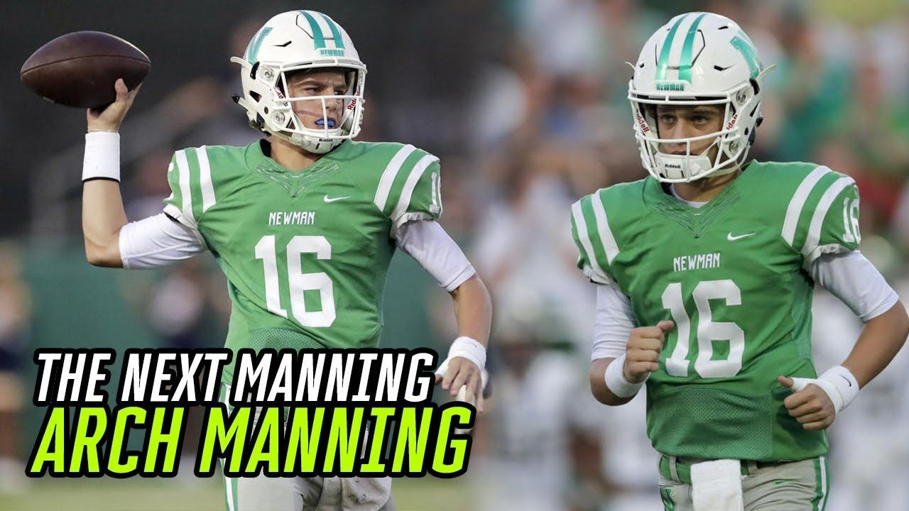 Freshman QB Arch Manning BALLS OUT In His 1ST HS GAME! Peyton & Eli Manning's Nephew Can SLING IT 💰