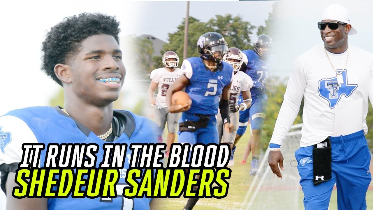 Shedeur Sanders Puts Up SIX TOUCHDOWNS In Big Win! Deion Sanders' Son Is A COMPLETE QUARTERBACK 😱