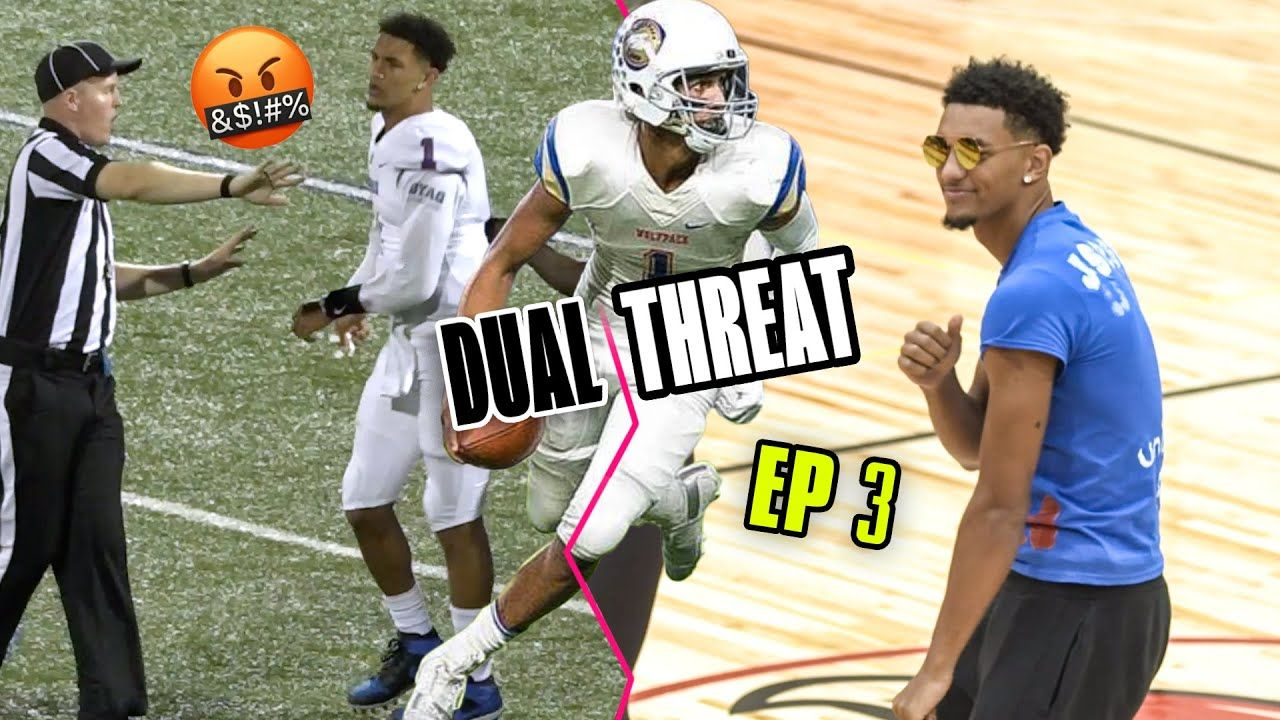 """You Know Better Than To TEST ME Bro!"" Jalen Suggs Gets Helmet RIPPED OFF & Talks College Decision!"