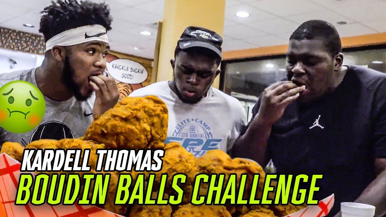 Kardell Thomas EATING COMPETITION! How Much CHICKEN Can He Eat!?