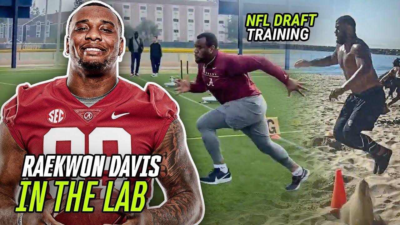 "Alabama's 6'7"" 300 pound BEAST Raekwon Davis Is Ready For The LEAGUE! Secret Pre Draft Workouts 🔥"