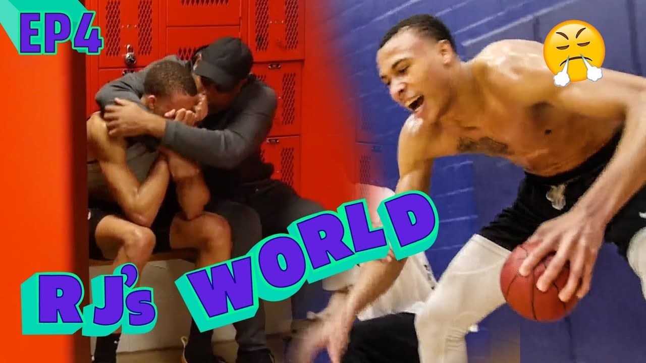 """""""My Dad Is CRAZY!"""" RJ Hampton Deals With The PRESSURE Of Playoffs! Gets Emotional & Cries After Loss"""