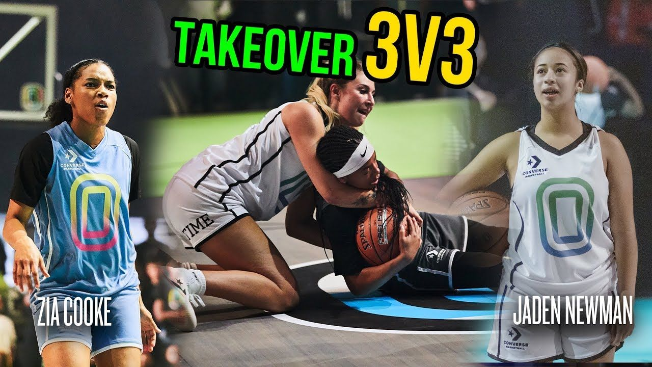 """Our Whole Lives They've Been Telling Us We Can't Ball."" Jaden Newman, Zia Cooke & More BATTLE!"