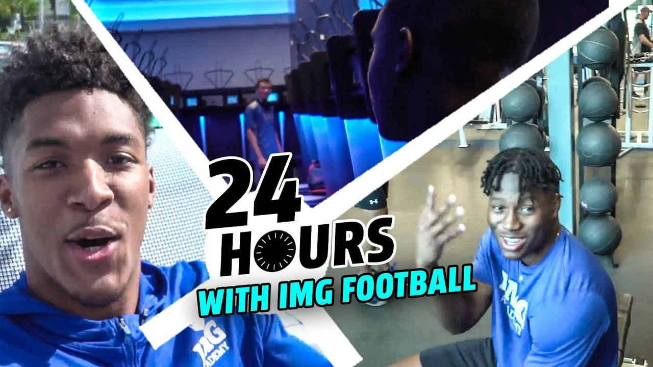 IMG Academy Took Us Around Their INSANE CAMPUS! Epic Locker Room, Weight Room & TV By The POOL!