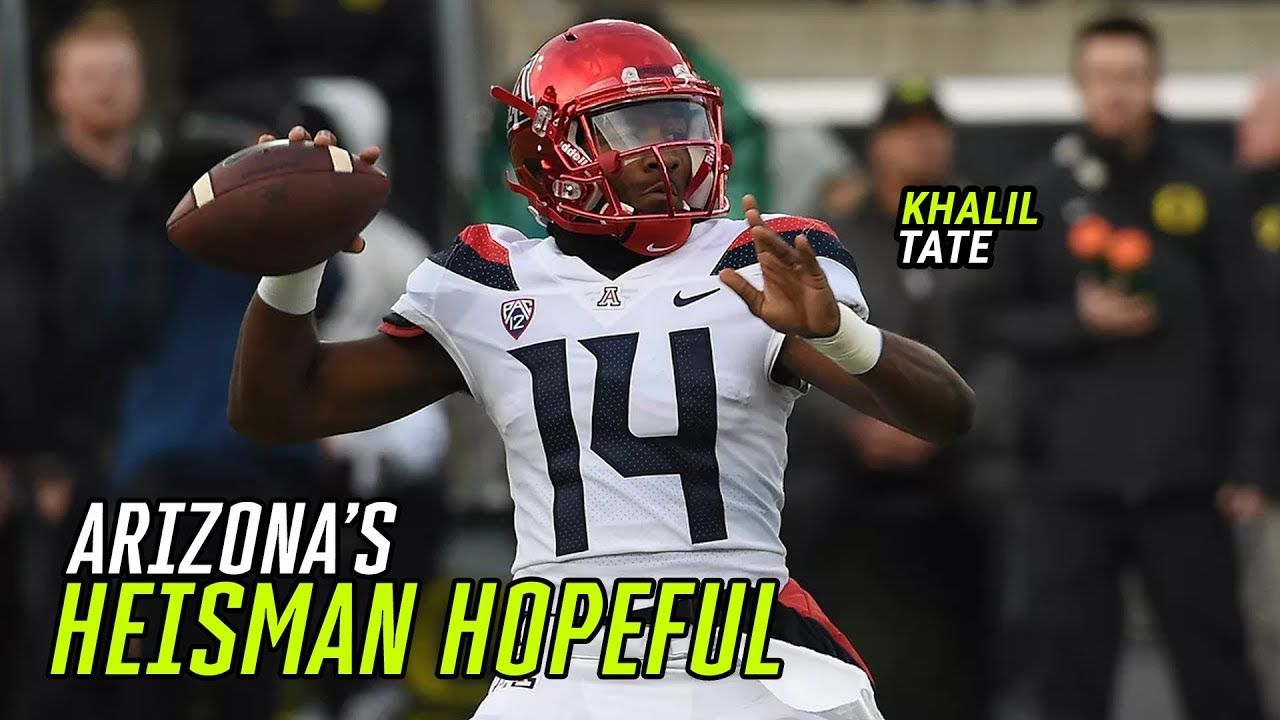 """The Most Badass Motherf@*ker In The Country!"" Khalil Tate Went From Backup To Heisman Hopeful 😱"