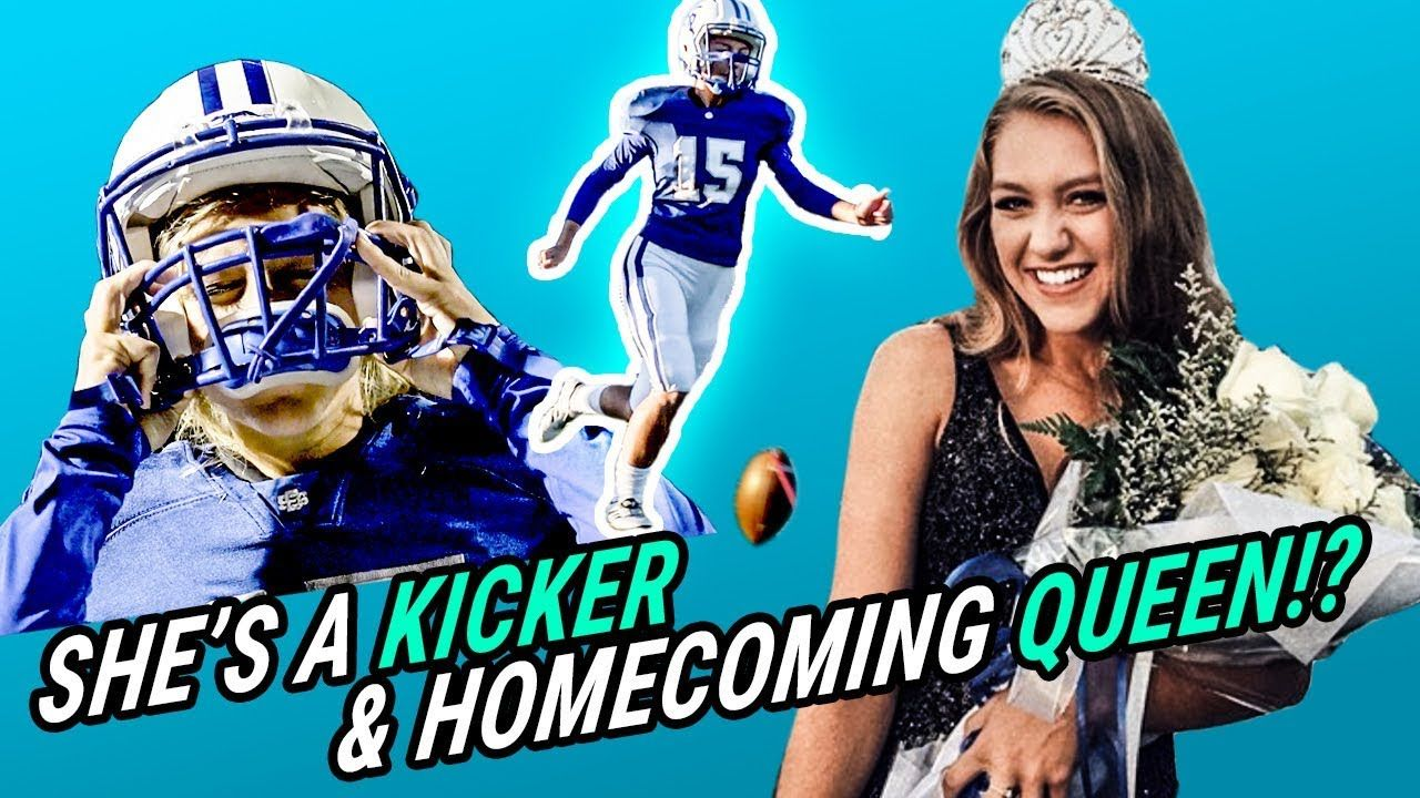 The HOMECOMING QUEEN Who's A Star Football Player! Kaylee Foster Is Putting On For ALL WOMEN 💯