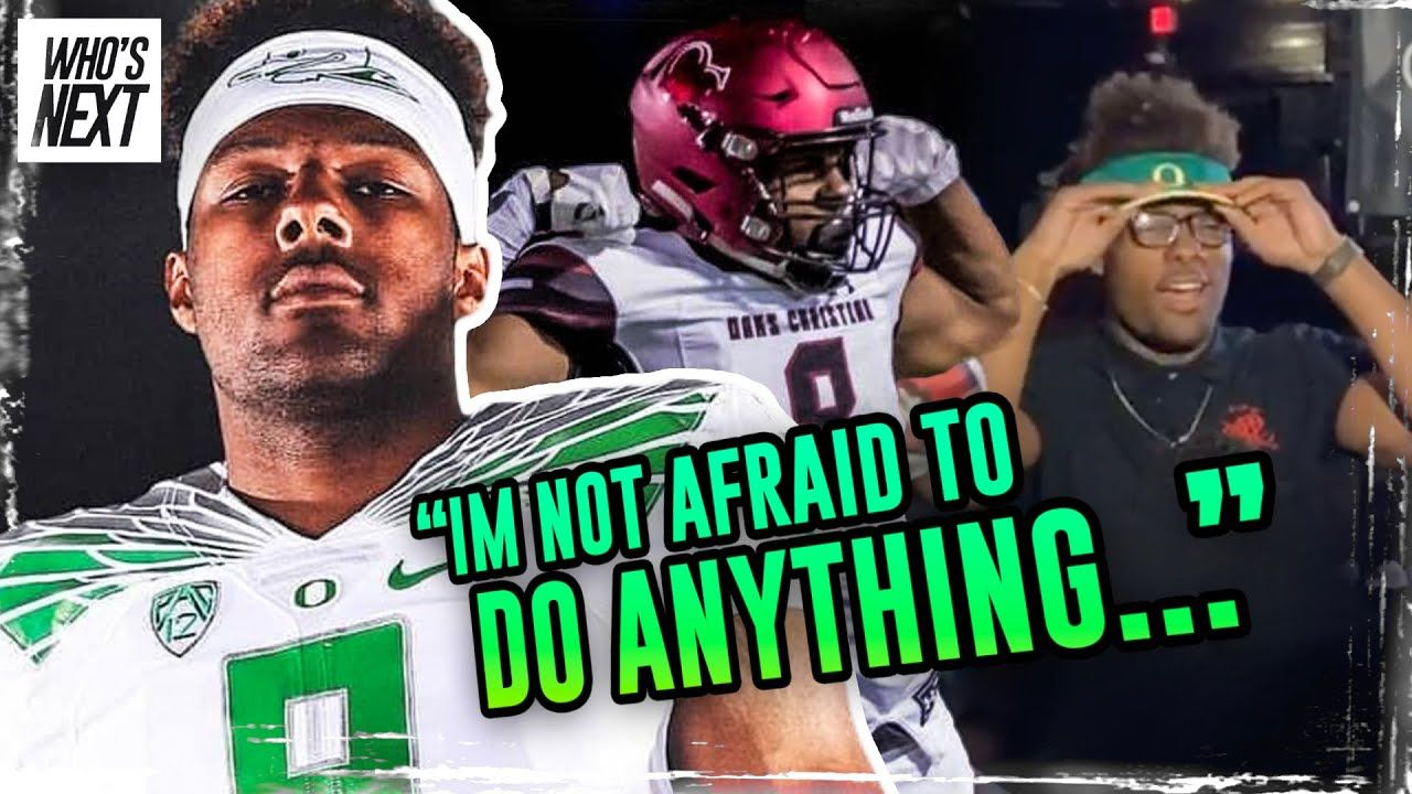 """I Lift Weights...I Just Do It 10 Times Harder!"" Oregon Star Kayvon Thibodeaux Is Chasing A LEGACY!"
