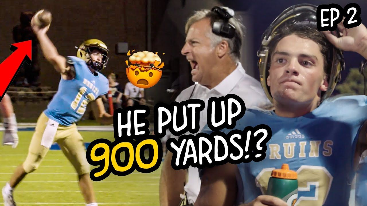 """I Have Something To Prove!"" QB With 0 Offers Puts Up 900 YARDS IN ONE GAME! Coach BENCHES Top WR!?"