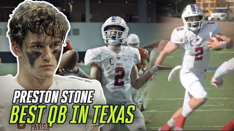 Preston Stone Puts Up 48 TOUCHDOWNS & Wins Texas State Title! Junior Year Highlights From QB LEGEND