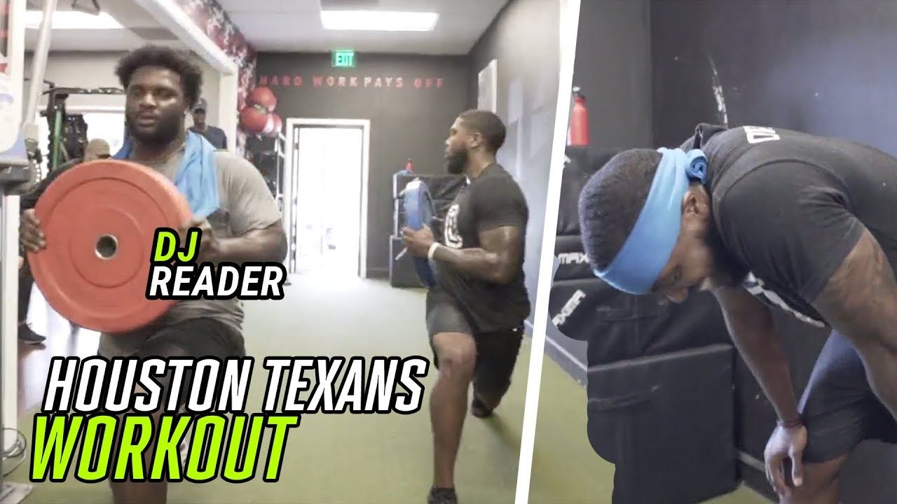 We Went Through A FULL Houston Texans WORKOUT! Defensive Tackle DJ Reader Is A BEAST 😳